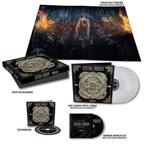 Eonian (CD-Boxset) von Dimmu Borgir - CD jetzt im Dimmu Borgir Shop