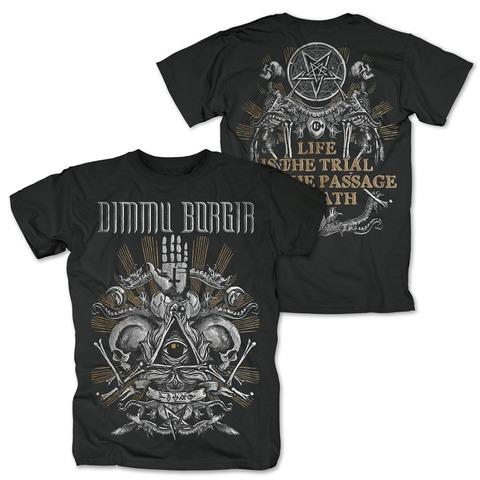 √Life Is The Trial von Dimmu Borgir - T-Shirt jetzt im Dimmu Borgir Shop