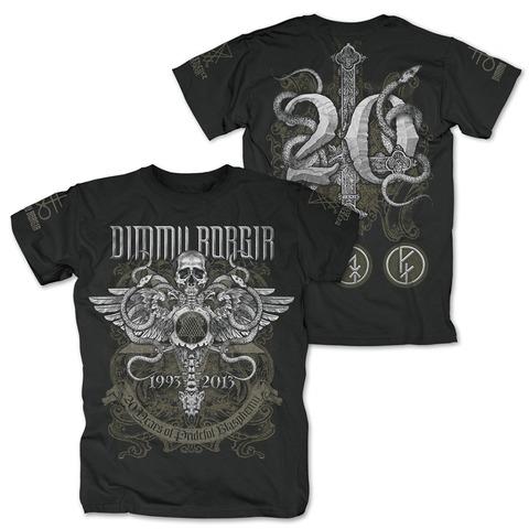 √Anniversary von Dimmu Borgir - T-Shirt jetzt im Dimmu Borgir Shop