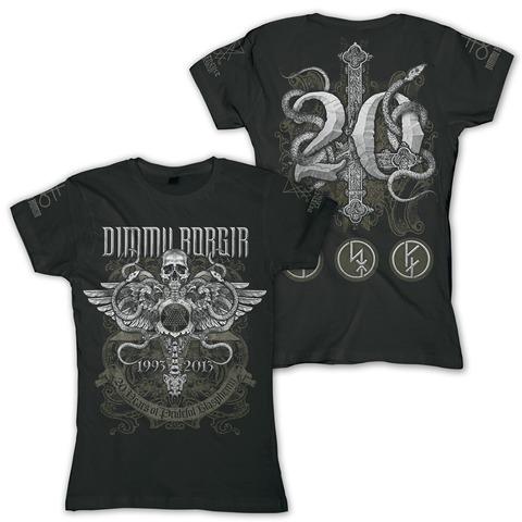 Anniversary von Dimmu Borgir - Ladies T-Shirt jetzt im Dimmu Borgir Shop
