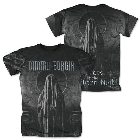 √FOTNN Allover von Dimmu Borgir - T-Shirt jetzt im Dimmu Borgir Shop