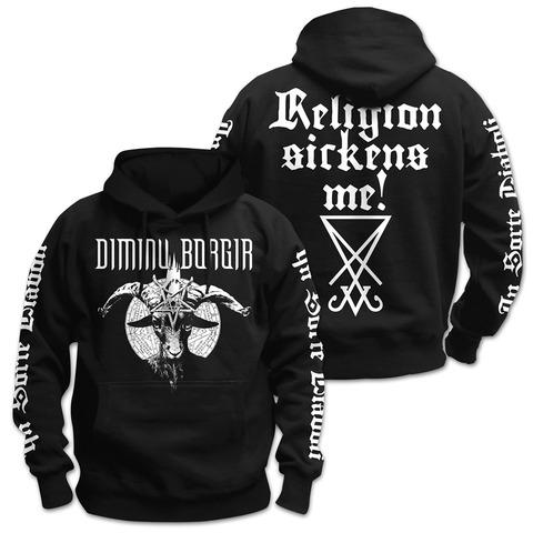 √Religion von Dimmu Borgir - Hoodie jetzt im Dimmu Borgir Shop