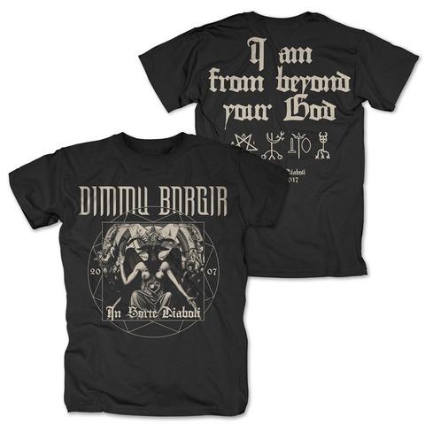 √In Sorte Diaboli Anniversary von Dimmu Borgir - T-Shirt jetzt im Dimmu Borgir Shop