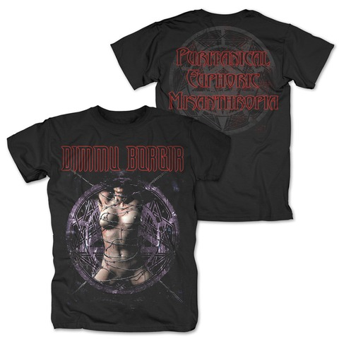 Puritanical Euphoric Misanthropia von Dimmu Borgir - T-Shirt jetzt im Dimmu Borgir Shop