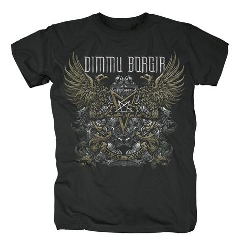 √25 Years von Dimmu Borgir - T-Shirt jetzt im Dimmu Borgir Shop