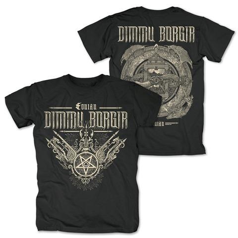 √Eonian Album Cover von Dimmu Borgir - T-Shirt jetzt im Dimmu Borgir Shop