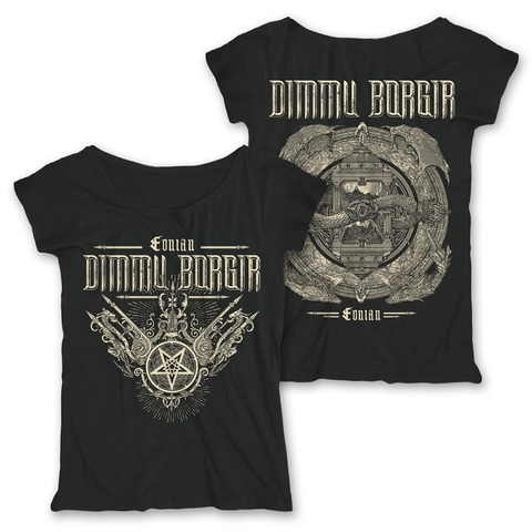 √Eonian Album Cover von Dimmu Borgir - Ladies T-Shirt Loose Fit jetzt im Dimmu Borgir Shop