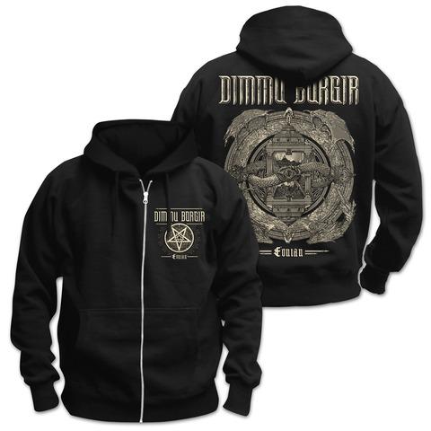 √Eonian Album Cover von Dimmu Borgir - Jacket jetzt im Dimmu Borgir Shop