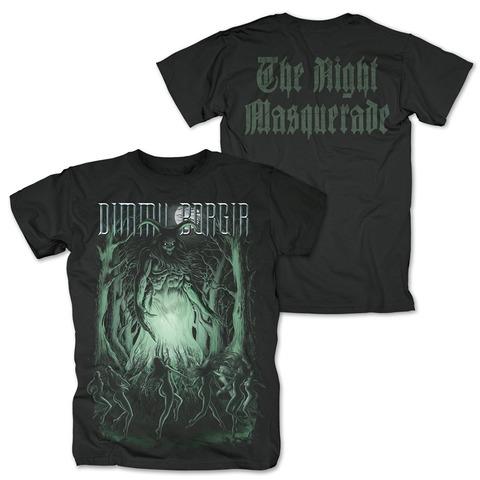 √The Night Masquerade von Dimmu Borgir - T-Shirt jetzt im Dimmu Borgir Shop