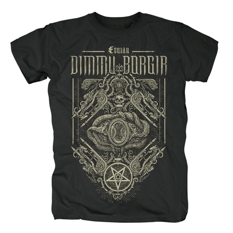 √Eonian Snakes Ornament von Dimmu Borgir - T-Shirt jetzt im Dimmu Borgir Shop