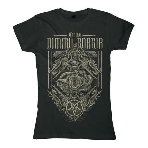 √Eonian Snakes Ornament von Dimmu Borgir - Girlie Shirt jetzt im Dimmu Borgir Shop