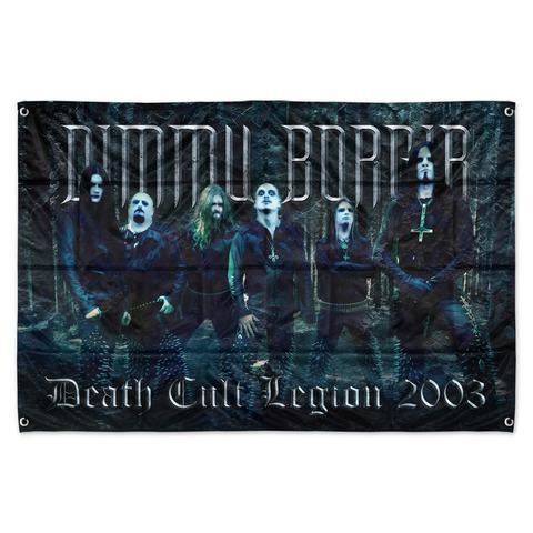√Death Cult Legion von Dimmu Borgir - Flag jetzt im Dimmu Borgir Shop