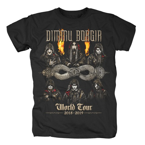 World Tour 2018-2019 von Dimmu Borgir - T-Shirt jetzt im Dimmu Borgir Shop