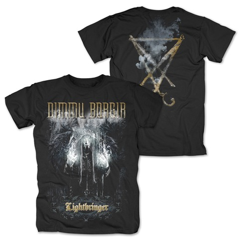 √Lightbringer von Dimmu Borgir - T-Shirt jetzt im Dimmu Borgir Shop