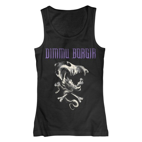 √Skull von Dimmu Borgir - Girlie Top jetzt im Dimmu Borgir Shop