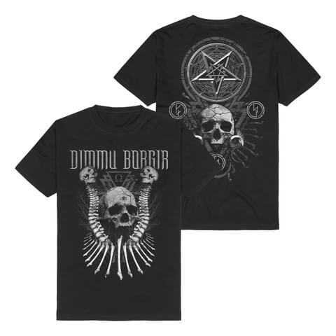 √Skull N Bones von Dimmu Borgir - T-Shirt jetzt im Dimmu Borgir Shop